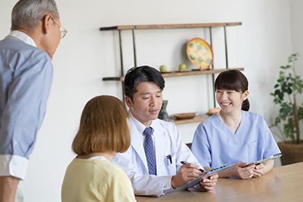 在宅医療・施設での薬剤服用管理支援